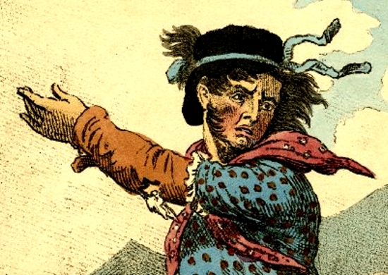 Illustration of the Fictitious Leader of the Luddites, General Ludd.
