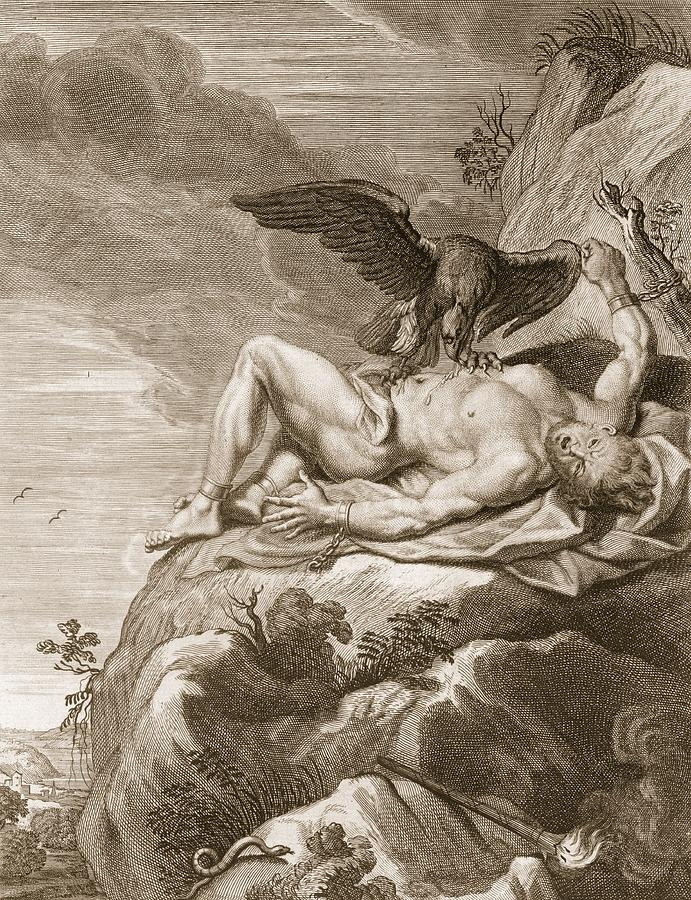 Prometheus and vulture via Fine Art America
