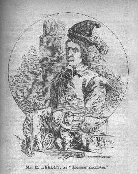Mr. Keeley as Fritz in the 1823  Presumption  adaption of Frankenstein. Via Romantic Circles.