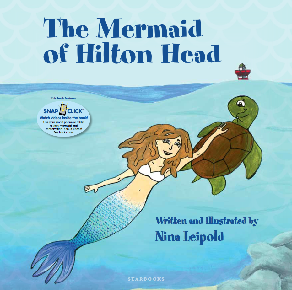The Mermaid of Hilton Head - Hardcover book