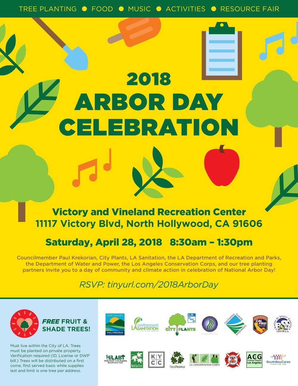 2018 Arbor Day Celebration Flyer - English.jpg