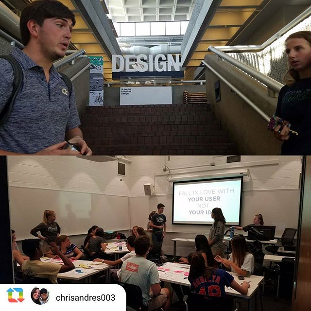 #mvidiploma helps GT students through #designthinking skills needed to design a better world!