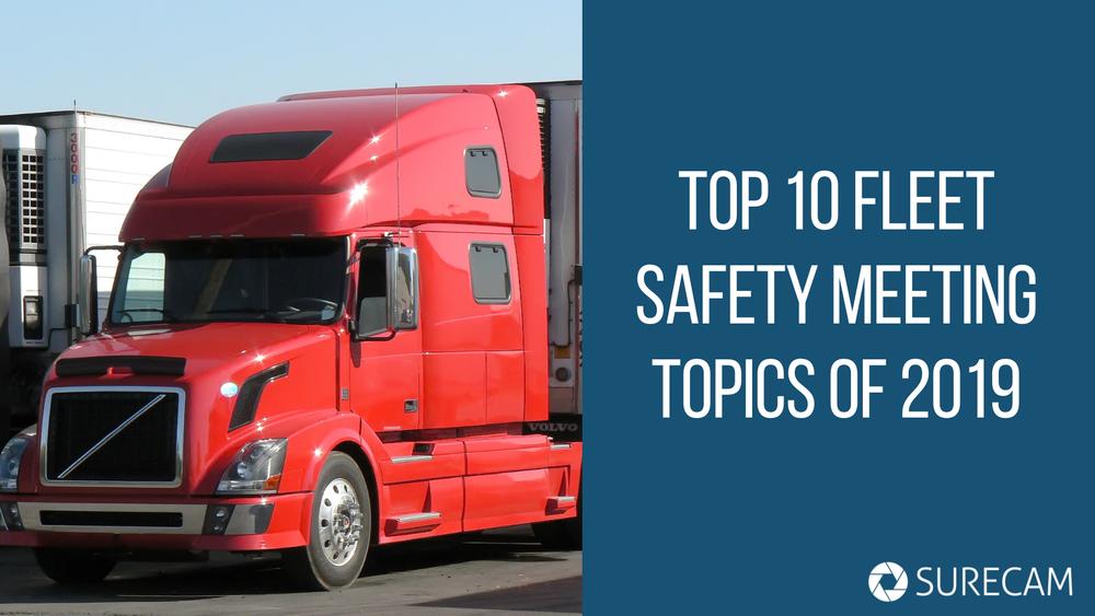 Top 10 Fleet Safety Meeting Topics