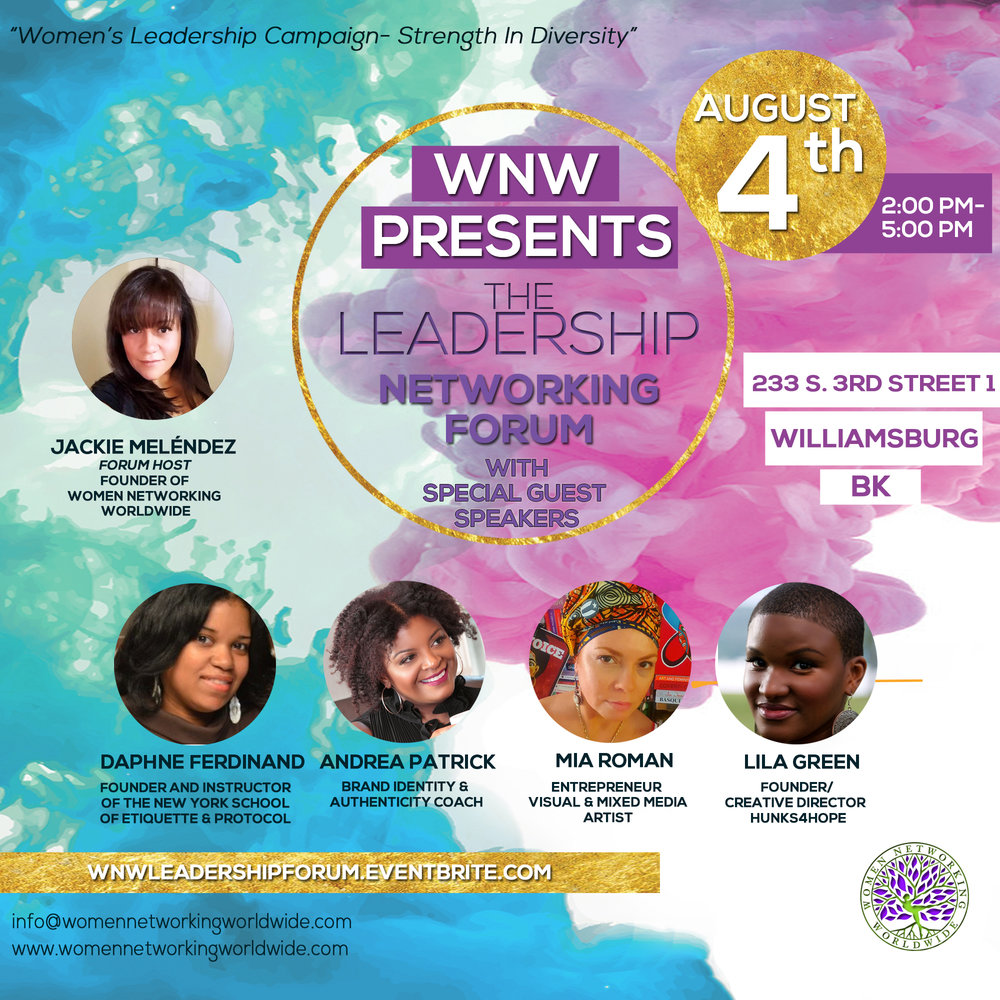 Join The Movement  - First leg of the WNW Leadership Series