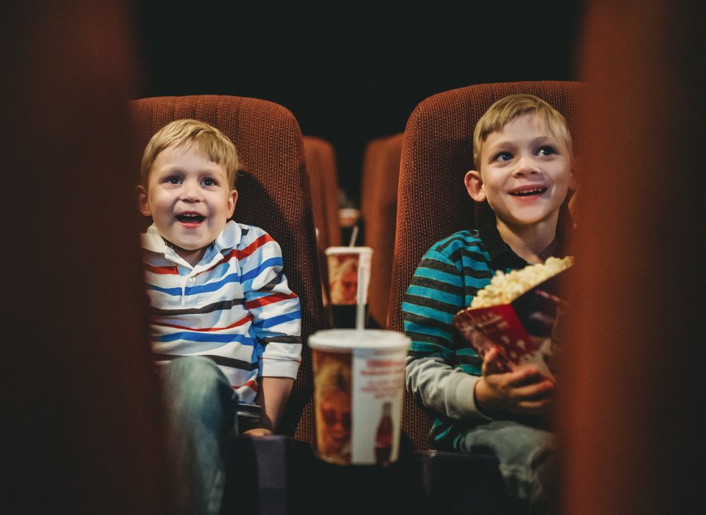 """In Between by Carra Marsh Rathbun   """"My boys loving 'The Greatest Showman'and singing 'in between'every amazing song! Trying to push myself to shoot in situations where lighting is less than ideal to still get the memory."""""""