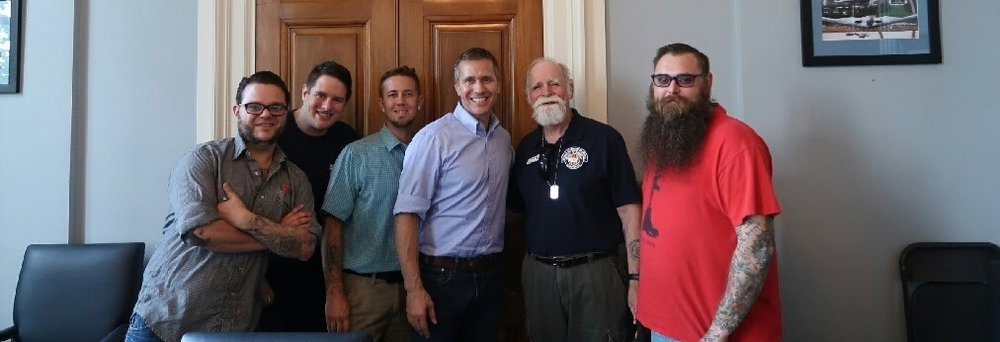 Meeting with Governor Greitens in 2017