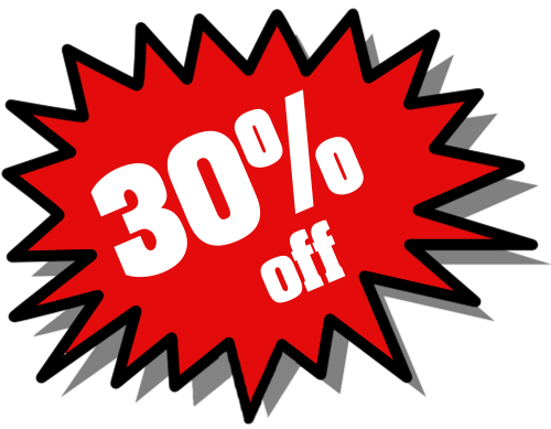 Pre Summer Deal - 30% off Of RENTALS (SOME EQUIPMENT NOT INCLUDED) From Now Till THE END OF MAY. (may not be combine with any other deals)