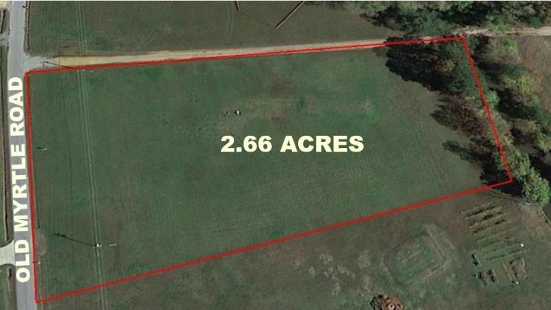 2.66 AcresOLD MYRTLE RD -