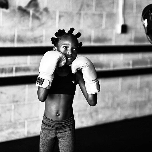 Our kids are just as fierce as our adults. We train with purpose, we believe confidence helps the bullied stand up and the bullier realize it's beneath them to do it. #bully #confidence #love #fight #boxing #motivation #instagood #instagram #training #me #standup #dotherightthing @girlupcampaign @bskye_jones