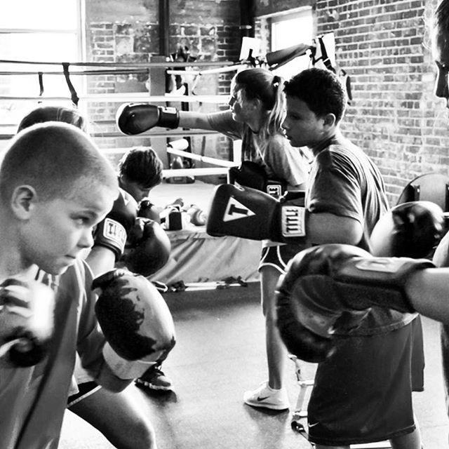 Kids boxing classes boys & girls ages 5-12 start this week Tuesday/Thursday 3:30-4:30 $30 nonmembers $25 members  Confidence,  positive health and self defense  #boxing #kids #fun #selfdefense #nobullying #training