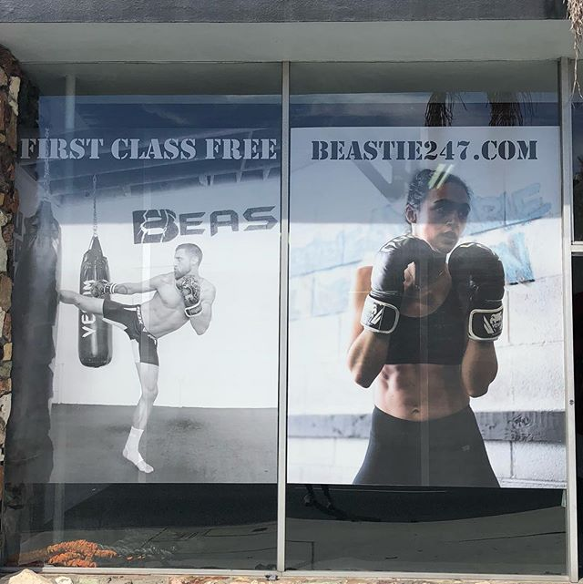 Welcome to Beastie! #boxing #fitness #sweat #health