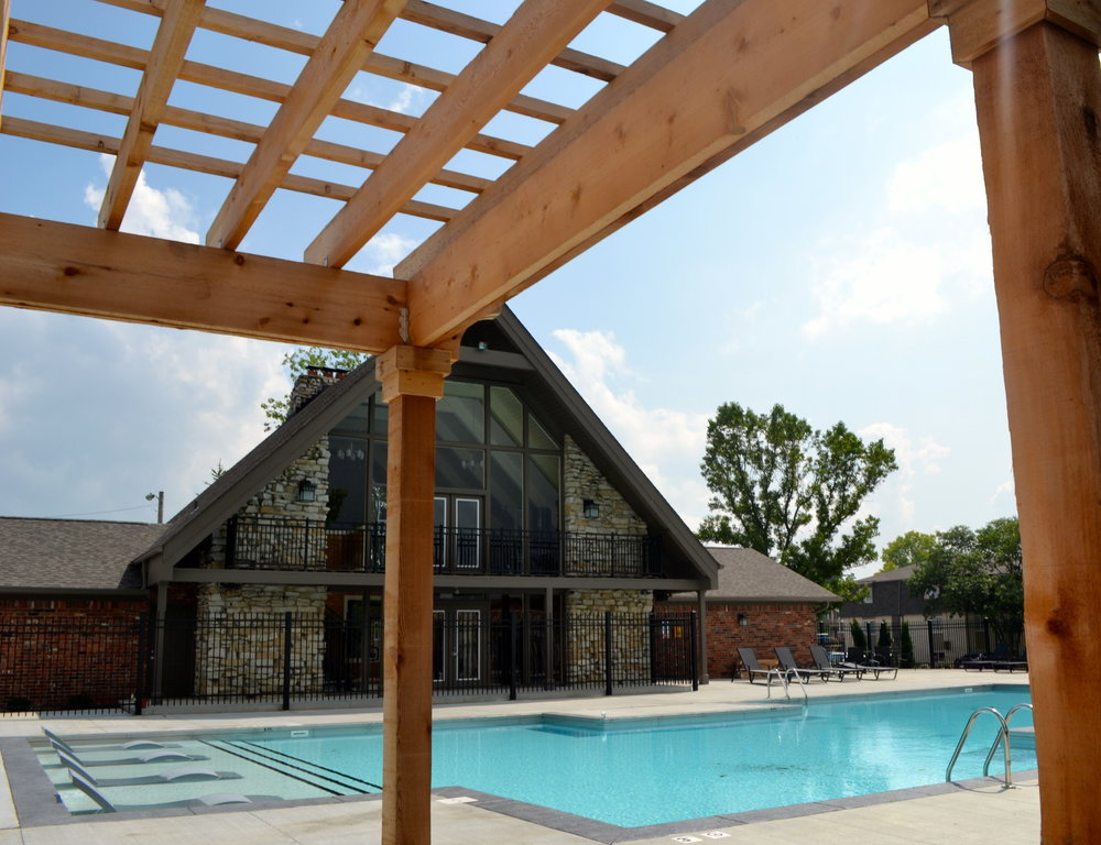 Westminster Apartments And Townhomes Pool Cabana And Fitness Center
