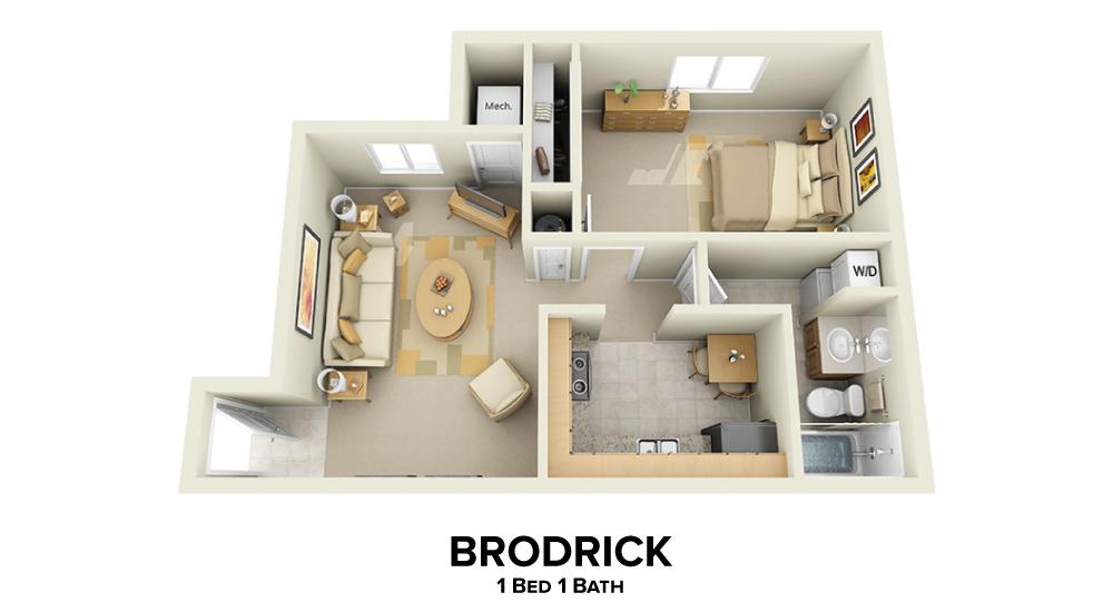 Brodrick Floorplan