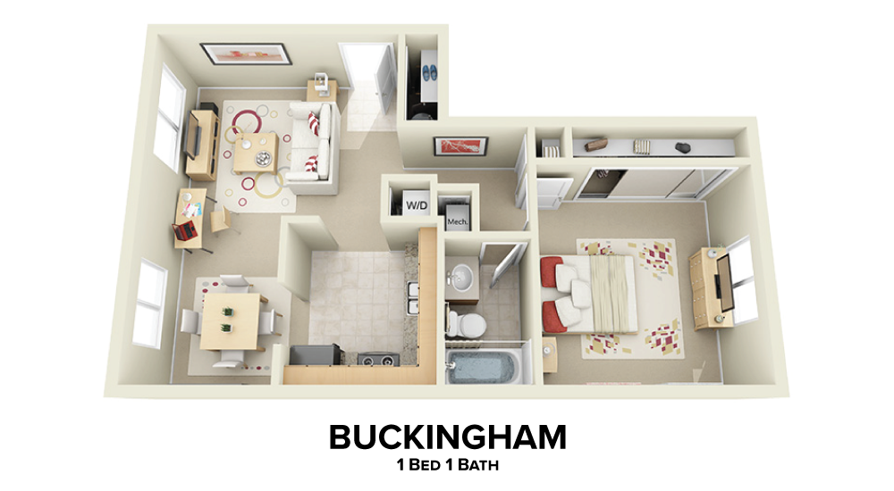 Buckingham Floorplan