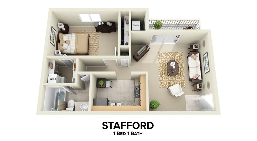 Stafford Floorplan