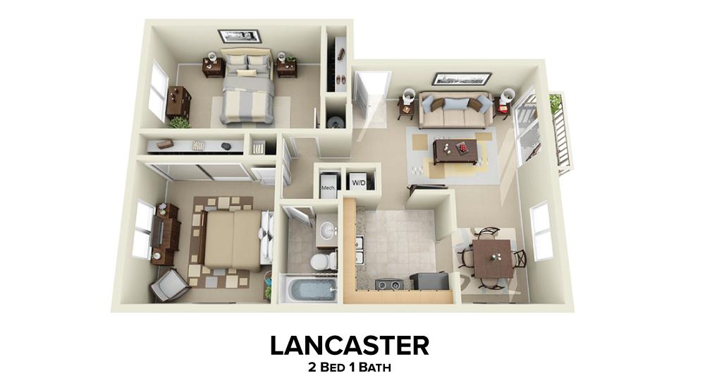 Lancaster Floorplan