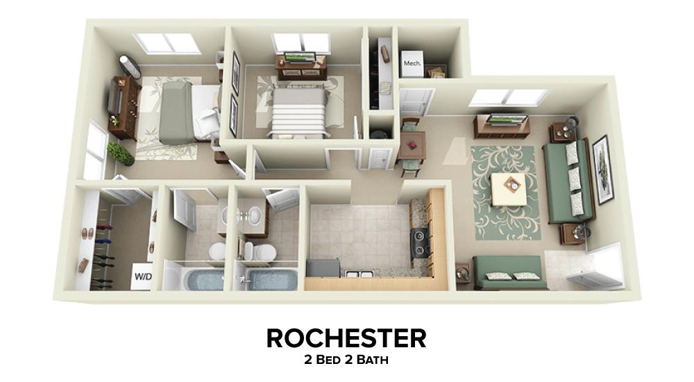 Rochester Floorplan