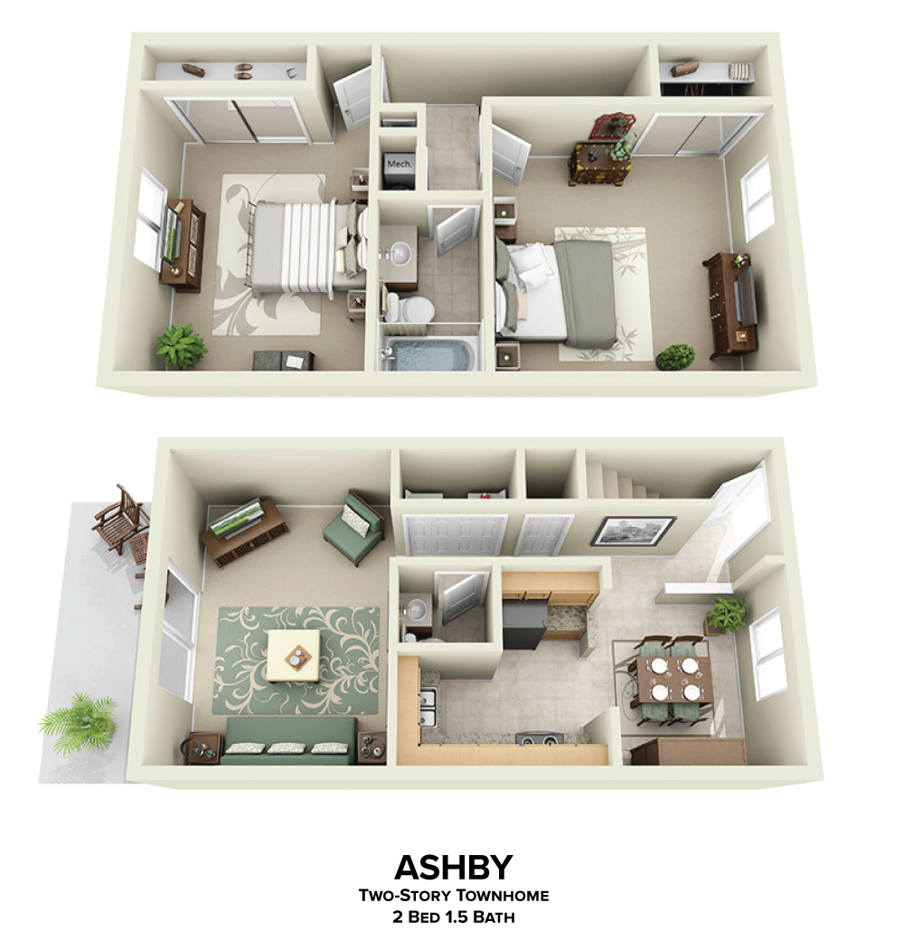 Ashby Floorplan