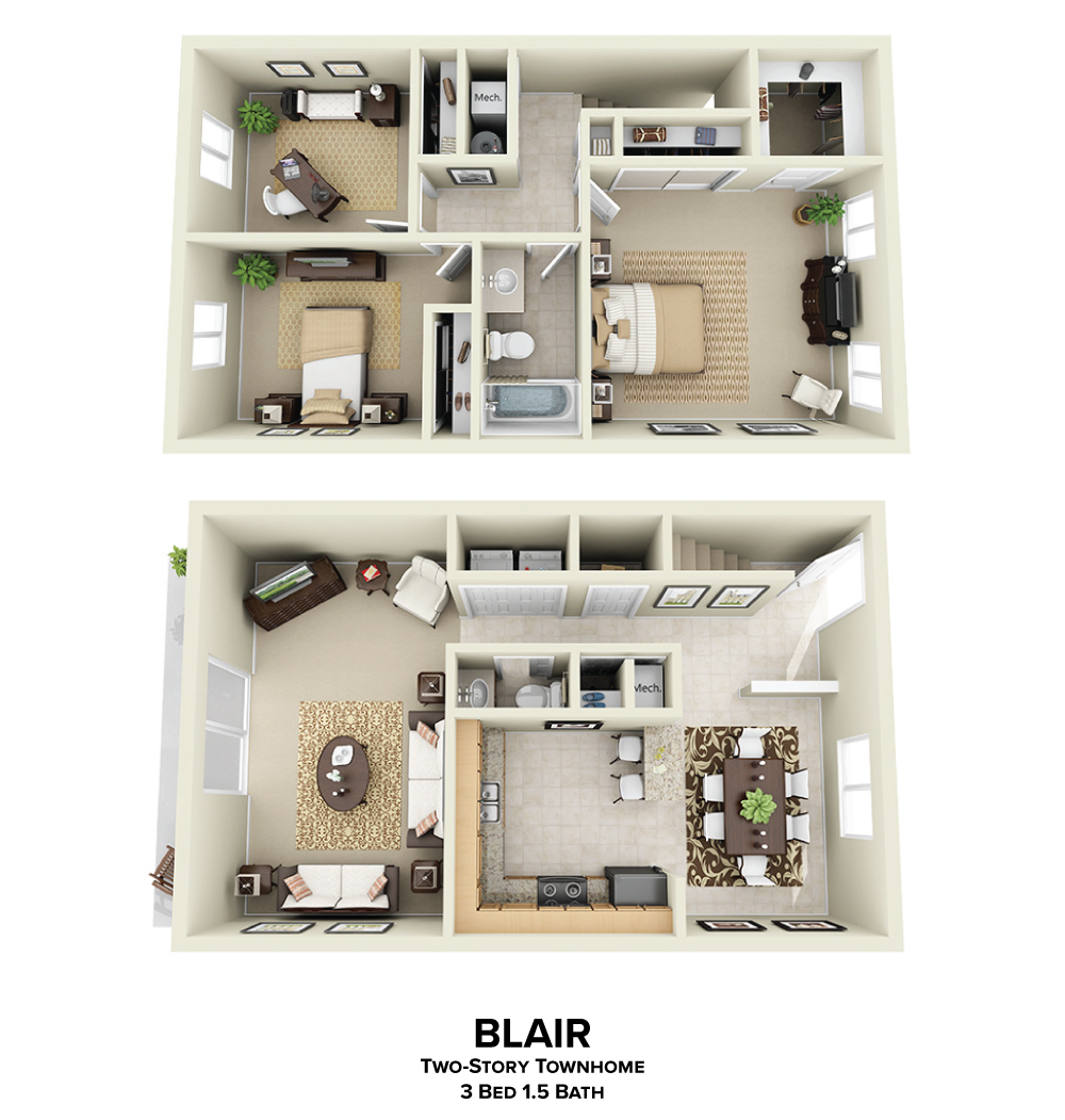 Blair Floorplan