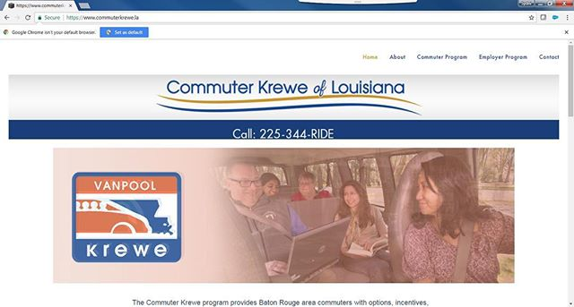#HappyMonday Commuter Krewe! If you're off today, take time to register in our ride match system and find a carpool buddy! Register on www.commuterkrewe.la!