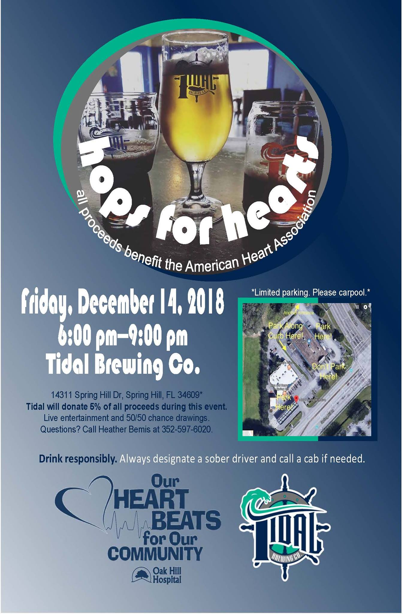 Hops For Hearts Benefiting The American Heart Association Tidal