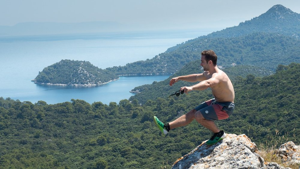 Pistol Squats with a view