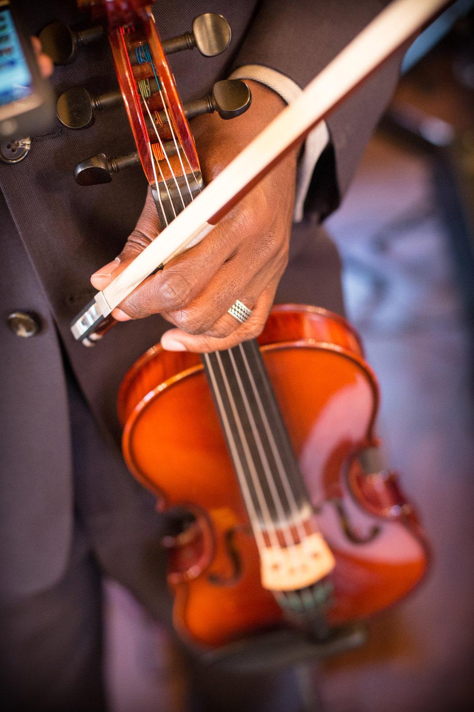 violin candid