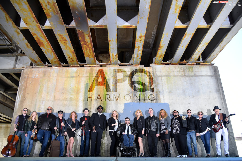 Kevin Showalter fronts APQ-Harmonic