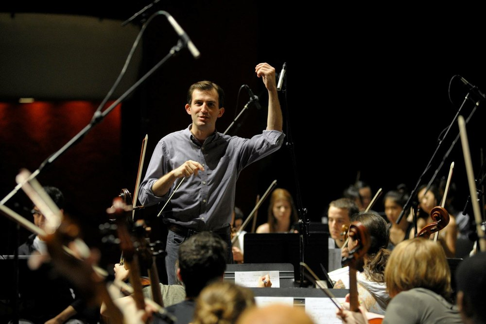 Caleb Young, Associate Conductor for Fort Wayne Philharmonic