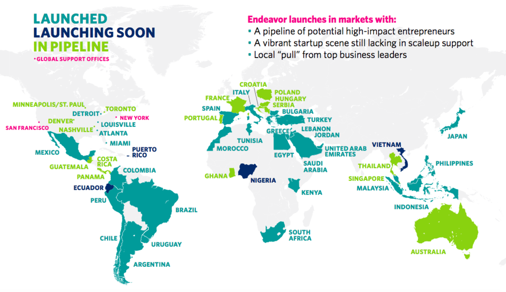 Endeavor Global Office Map.png