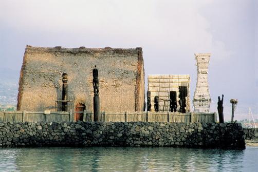 Ahu'ena Heiau 2008