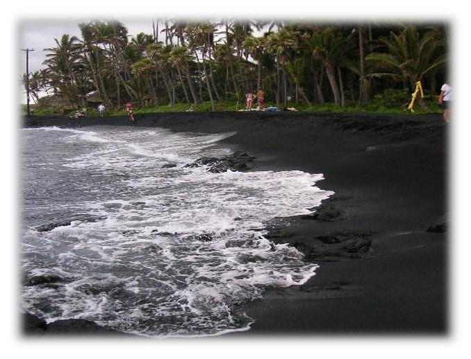 Black Sands Beach Ka'u
