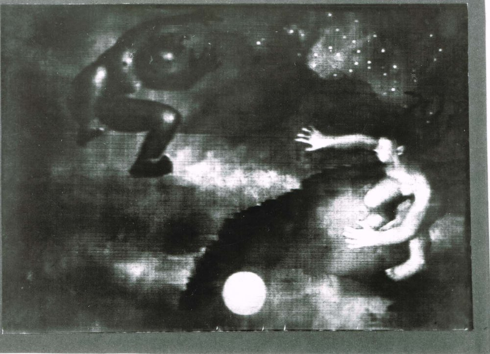 Night on Bald Mountain (still), from Alexeieff's 1933 film