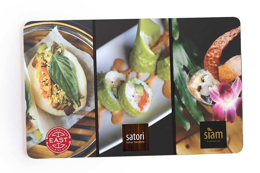Carte cadeau Groupe Satori