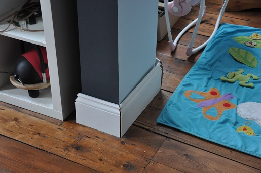 Ogee Skirting from The Skirting Board Shop by Simply The Nest, a UK DIY and renovation blog
