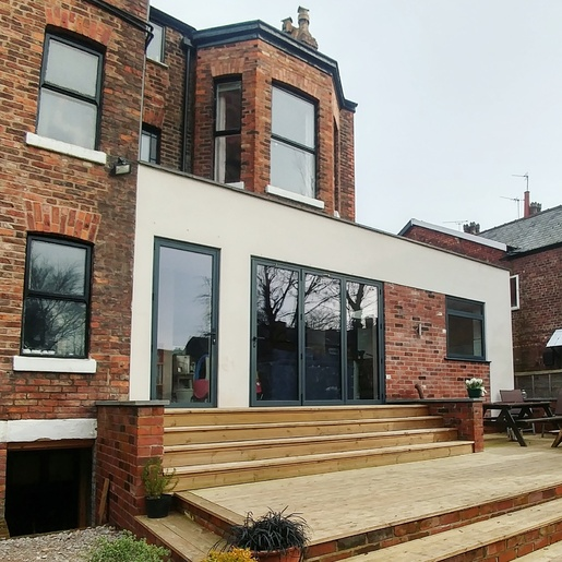Architect and builder reccomendation for south Manchester by Simply The Nest, a UK DIY and renovation blog Gibson Architects and Tipi Construction
