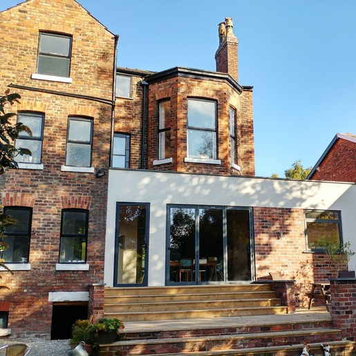 Gibson Architects and Tipi Construction South Manchester - by Simply the Nest, a UK renovation blog