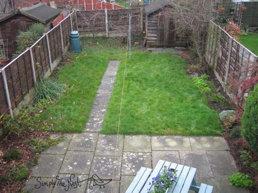 English garden transformation - by Simply The Nest, a UK renovation blog