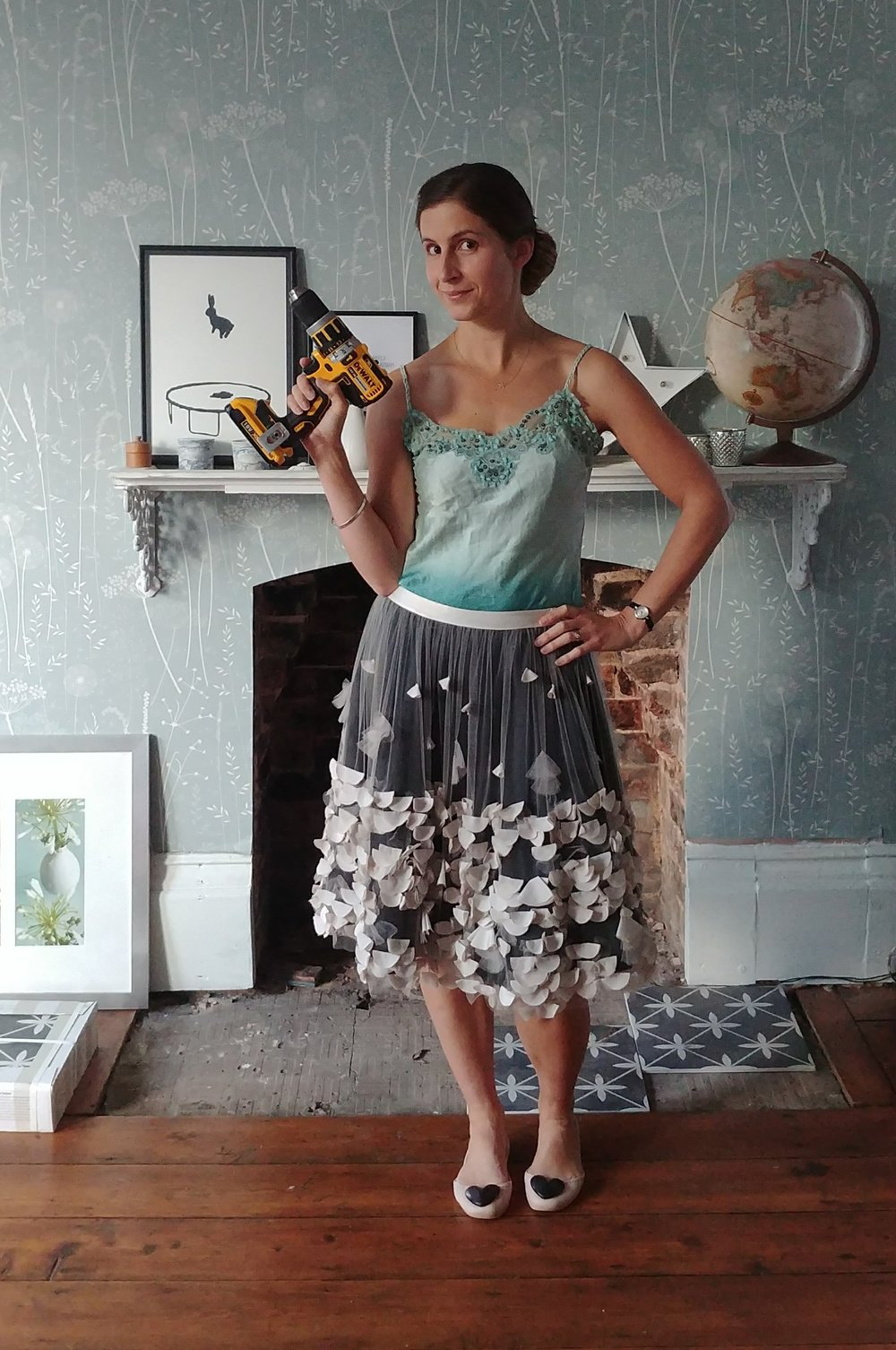 Welcome to Simply The Nest - I'm Alice, and I like tutus and power tools.