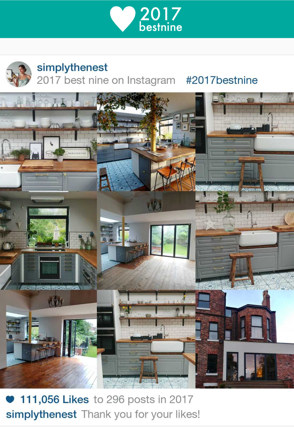 Eight pictures of the kitchen feature in my top nine most popular posts on Instagram, so clearly I'm not the only one who likes how the space turned out!