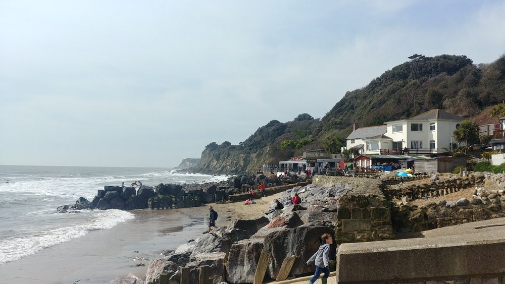 Lovely Steephill Cove.