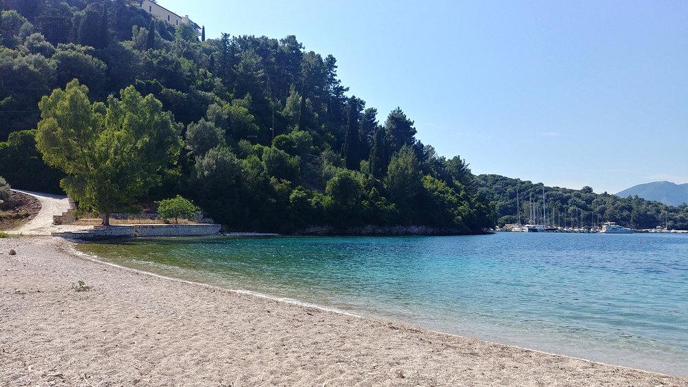Spilia beach.