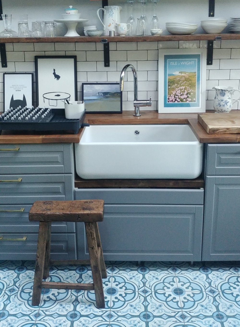 How To Fit A Belfast Sink On An Ikea Kitchen Cabinet — Simply The Nest