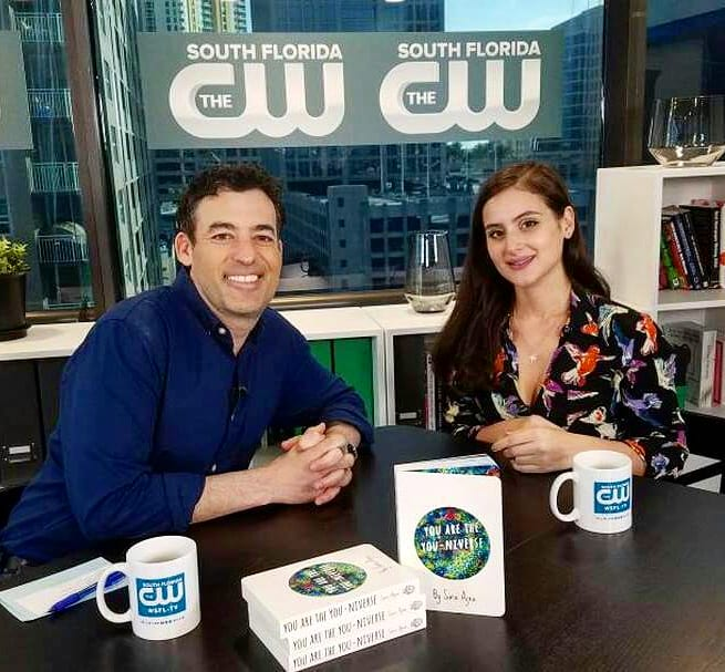 - Dave Aizer of The CW South Florida + Sara Ajna, creator of Naked Heart discuss the creation of Sara's first book, You Are The You-niverse