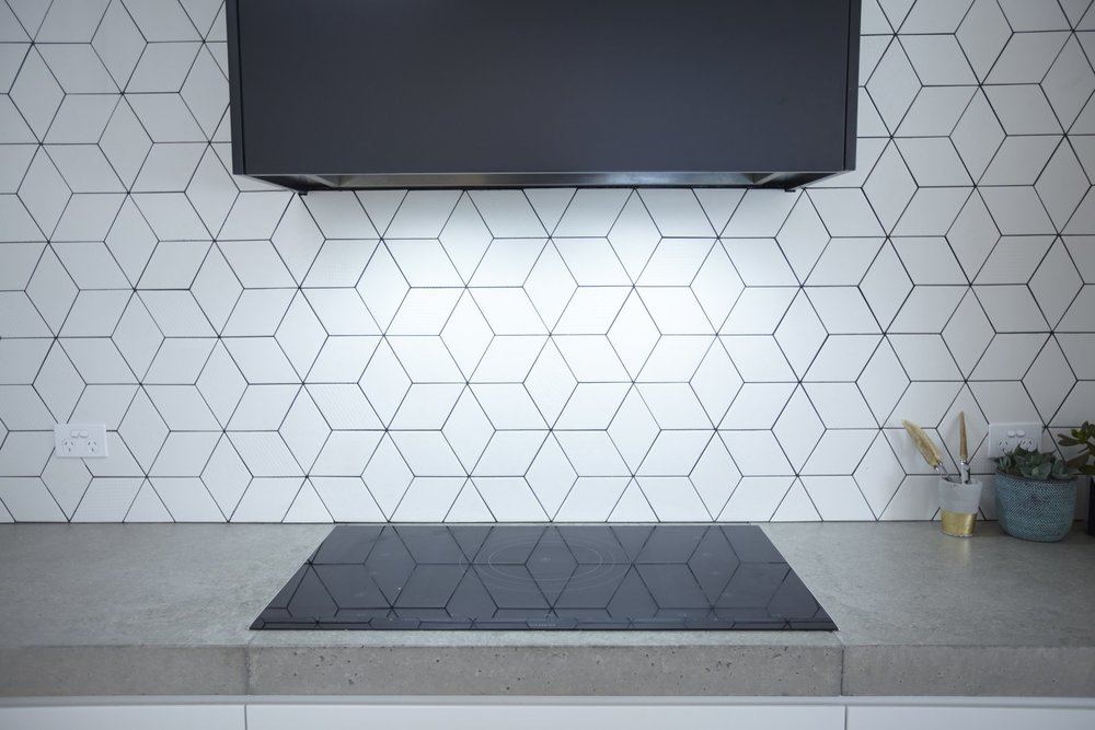 You can use your new backsplash to add texture and visual flair to the space.  Courtesy of Greg Scott