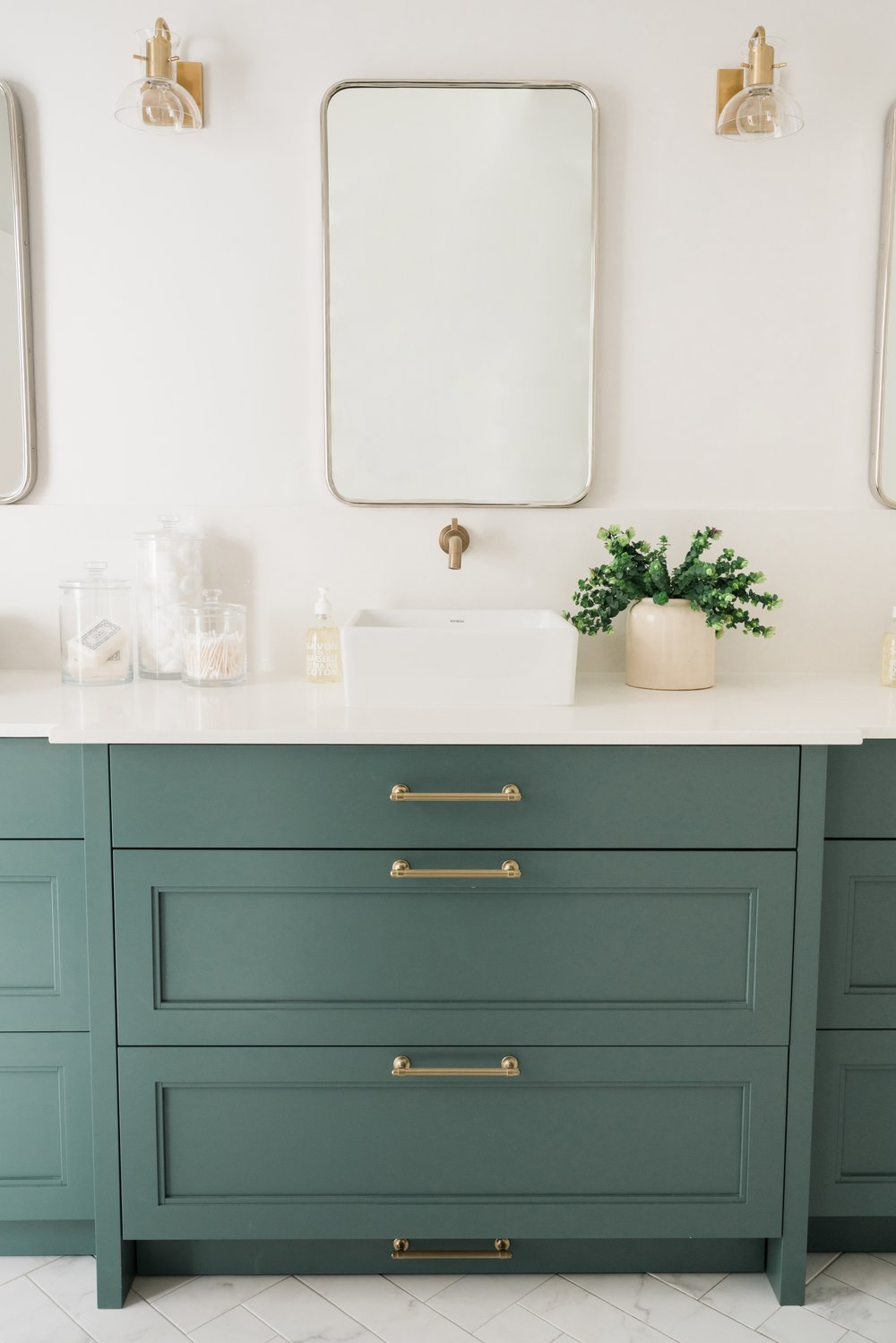 House of Jade Interiors | Travis J Photography | Riley Sconces by Mitzi