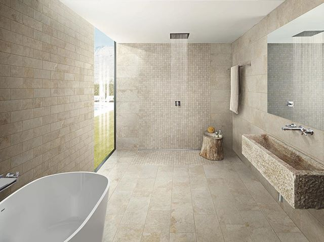 "New ""Haus Talk"" up on the website! Best Bathroom Flooring Options - posted by @avalonflooring. Link in bio. Need bathroom flooring? We can help you pick out the best flooring option for your space! #Springhaus #EverythingAmazing #SpringhausFlooring"