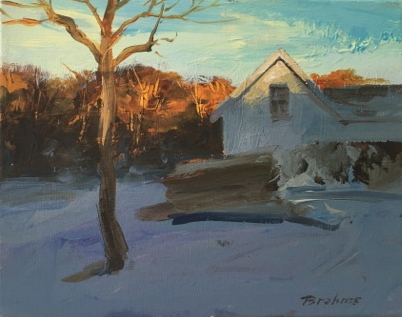 Toleman Heights Sunset, Winter