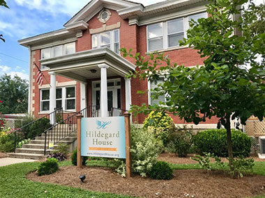 """We are, with the help of our community and our volunteers, the only place of emotional, spiritual, and social support for a dying person who otherwise has no home or loved ones to care for them. The services at Hildegard House are designed to help support the quality of living throughout the dying process. We believe every moment matters and strive to provide a home setting with comfort and support while respecting the dignity of every resident.  Every resident has access to a hospice team which is composed of a nurse, a nurse's aide, a social worker and chaplain. Meals, laundry, housekeeping and companionship are a part of the home setting at the Hildegard House."""