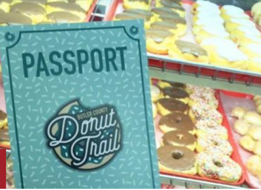 "AJC  //  Butler County GeoTour    ""Donut Trail in Ohio offers new attraction"""